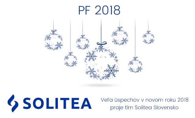 PF 2018 Solitea Slovensko, a.s. Veľa úspechov
