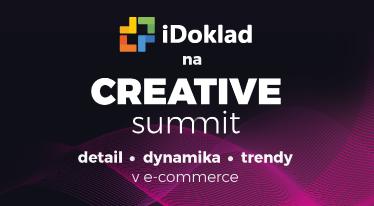 Onlin fakturácia iDoklad na Creative summit 2018