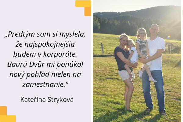 Kateřina Stryková s rodinou, Baurů dvůr