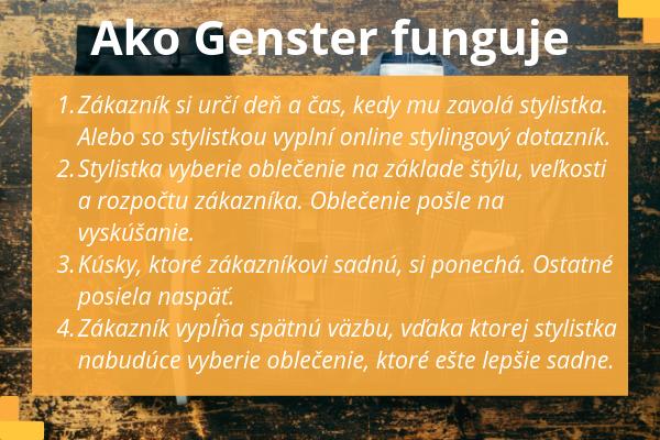 Ako Genster funguje