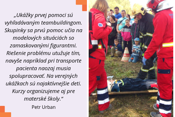 AKADÉMIA DOBROVOĽNÝCH ZÁCHRANÁROV, Petr Urban, citát
