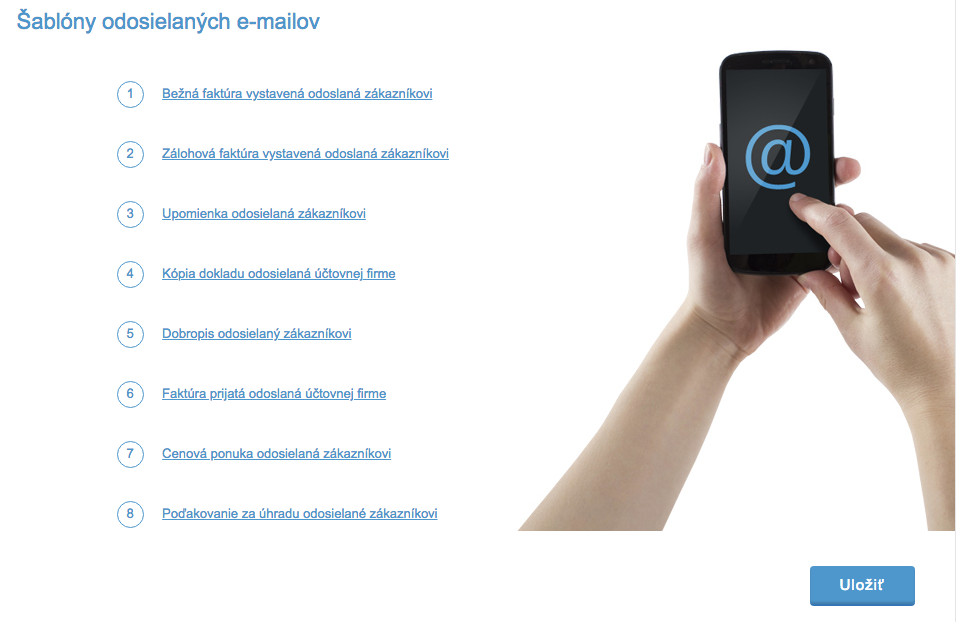 iDoklad - e-maily
