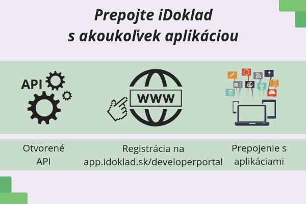 Vďaka otvorenému API prepojíte iDoklad s akoukoľvek aplikáciou.